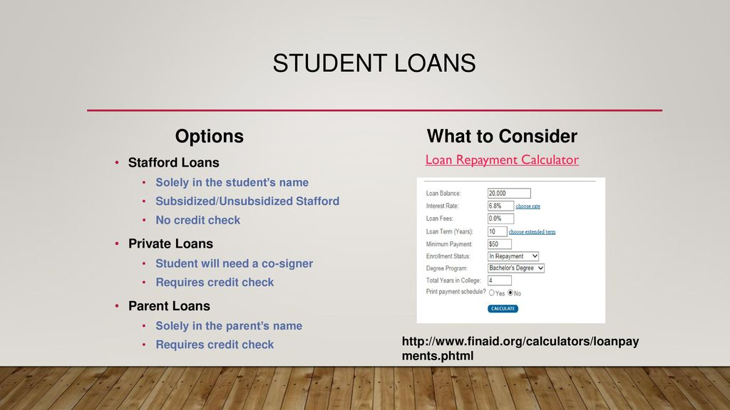 College Financial Aid Night - ppt download