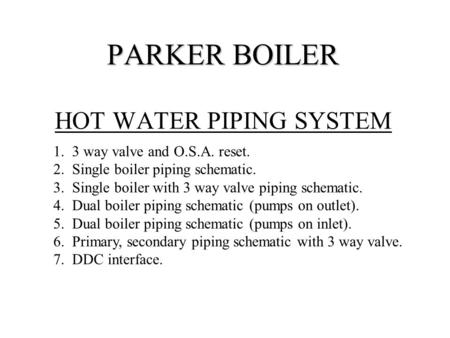 Hot water heating yesterday Hot water heating \u2026 and today n