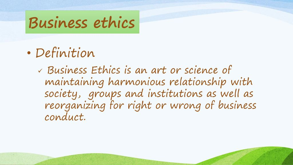 BUSINESS ETHICS BUS ppt download