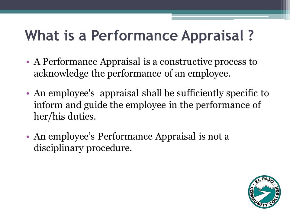 The Performance Appraisal Process - ppt video online download - performance appraisal