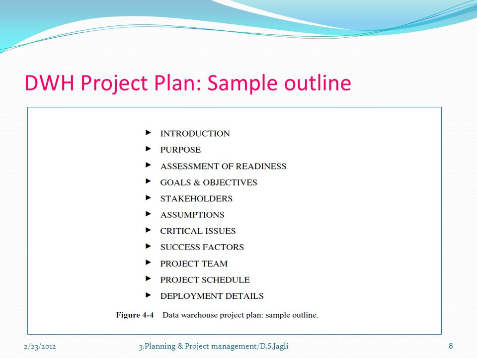 Project Plan Sample Design Project Execution Plan Pdf Free - project plan example