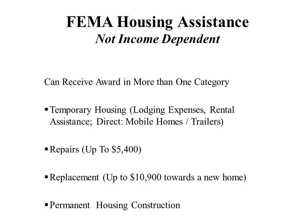 Disaster Assistance Made Easy - ppt download - rental assistance form