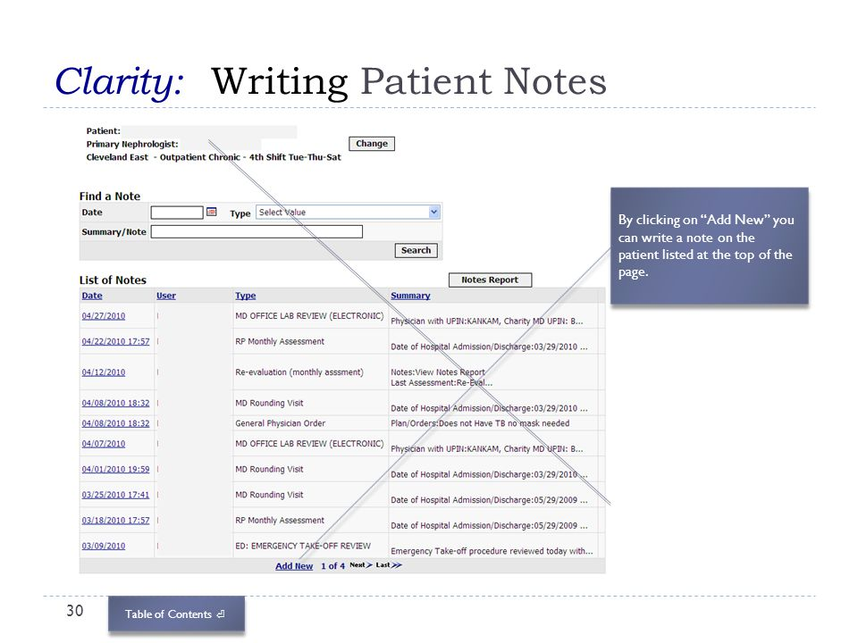 Centers for Dialysis Care Electronic Medical Record - ppt download - patient note