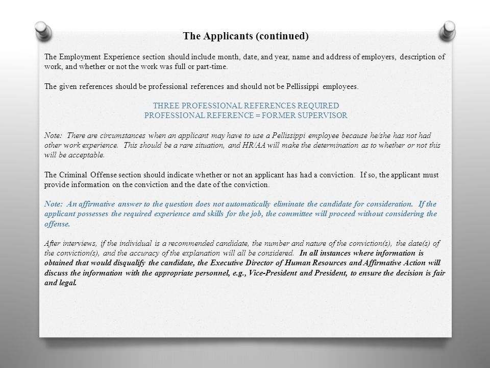 Consideration Of Arrest And Conviction Records In Search Orientation Ppt Download