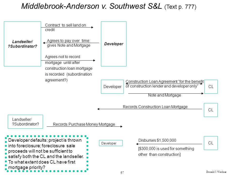 Construction Lender vs Permanent Lender (Text p 728) - ppt download