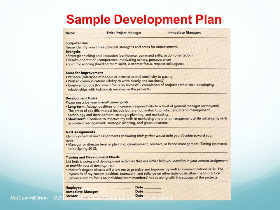Teacher Professional Development Plan Sample Goals Free – Development Plan Template for Employees