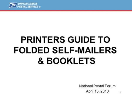 Folded self- mailer The rules for folded self mailers have not - tri fold mailer template