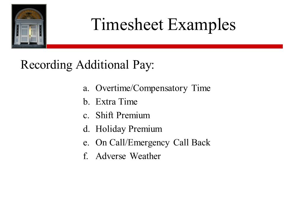 Employee Timesheet Training - ppt download - sample payroll timesheet