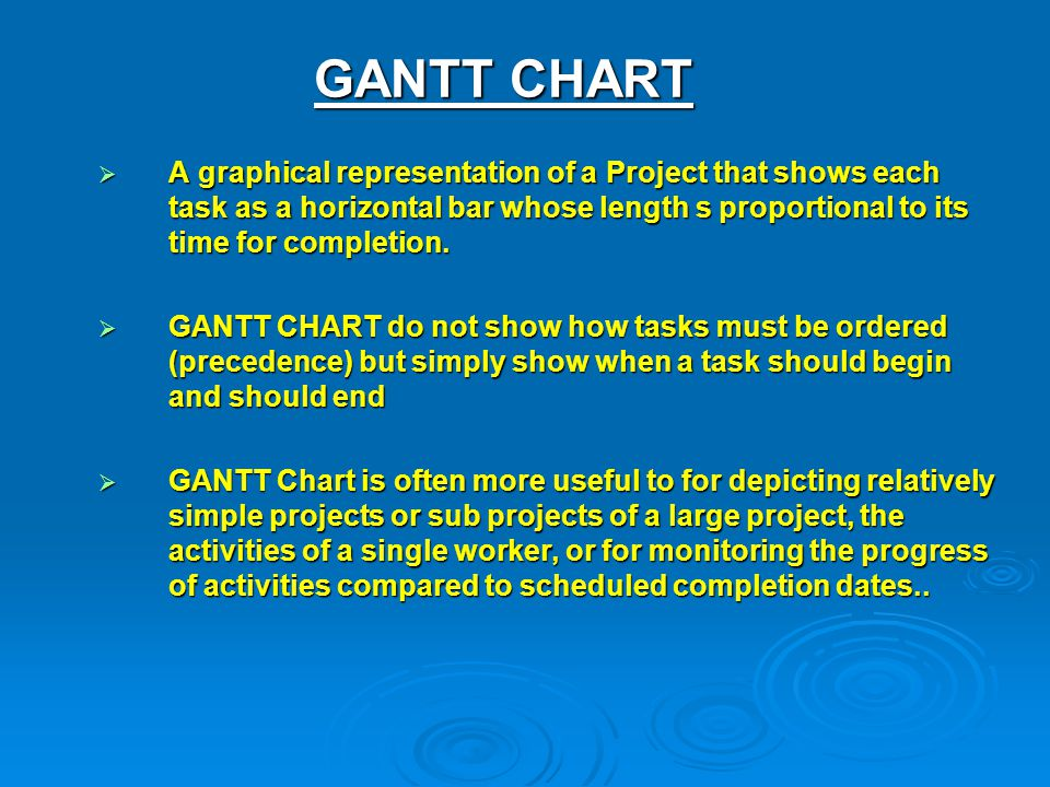PROJECT MANAGEMENT TOOLS AND TECHNIQUES - ppt video online download - what does a gantt chart show
