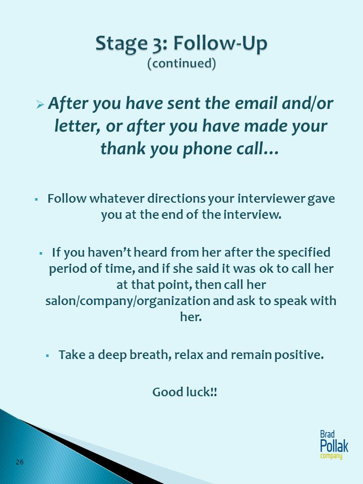 Follow Up Email After Job Offer thank you email after interview - follow up letter for job offer