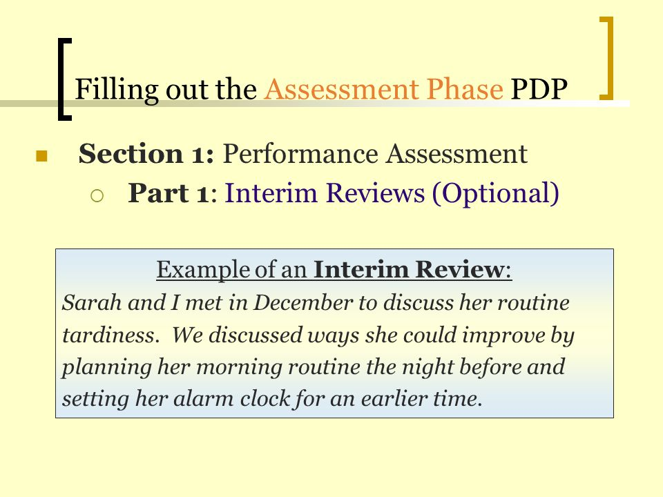 Performance Development Plan (PDP) Training - ppt video online download
