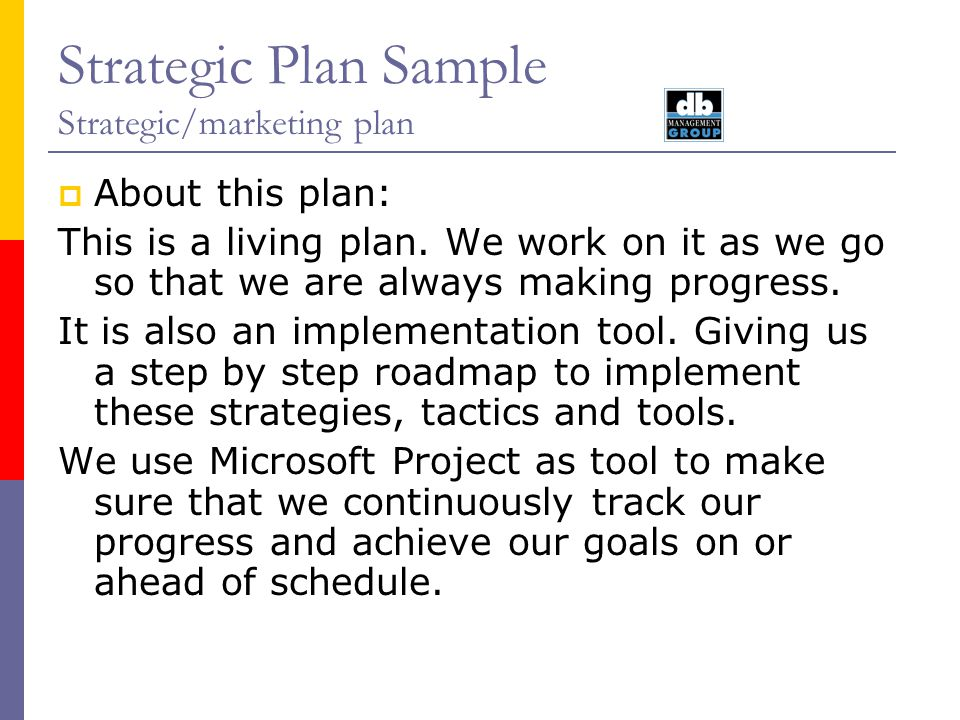 Strategic Plan Sample Strategic/Marketing plan August ppt video - microsoft strategic plan