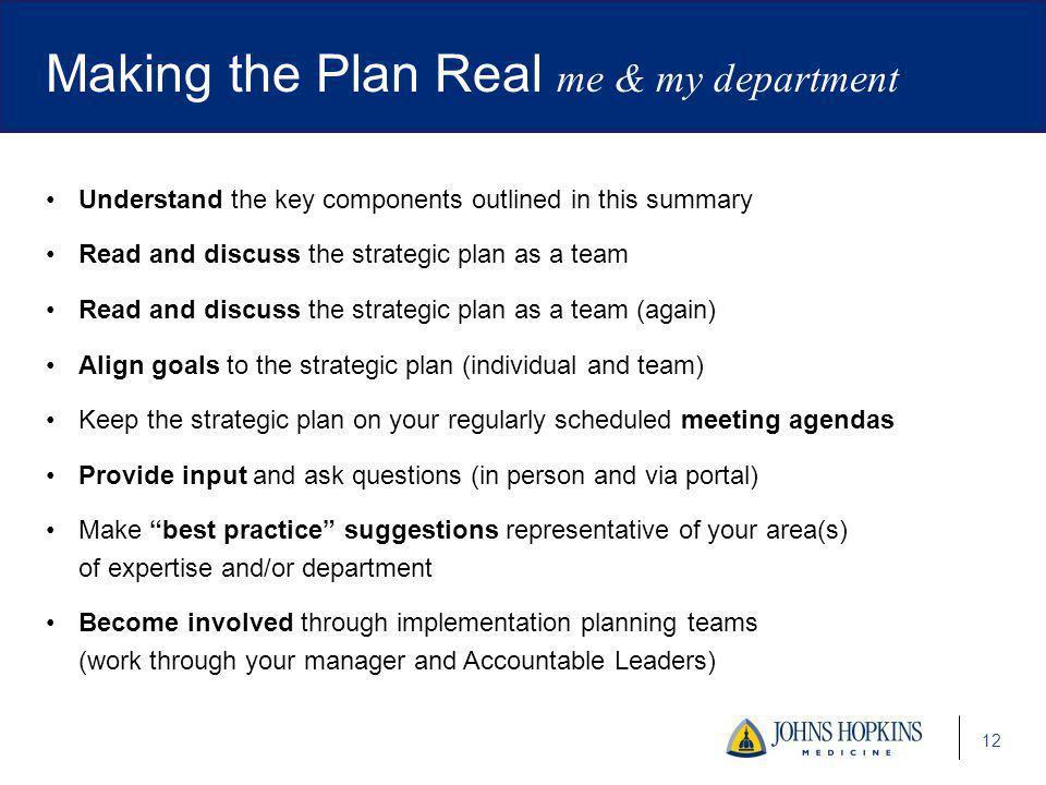 Johns Hopkins Medicine Strategic Plan - ppt video online download