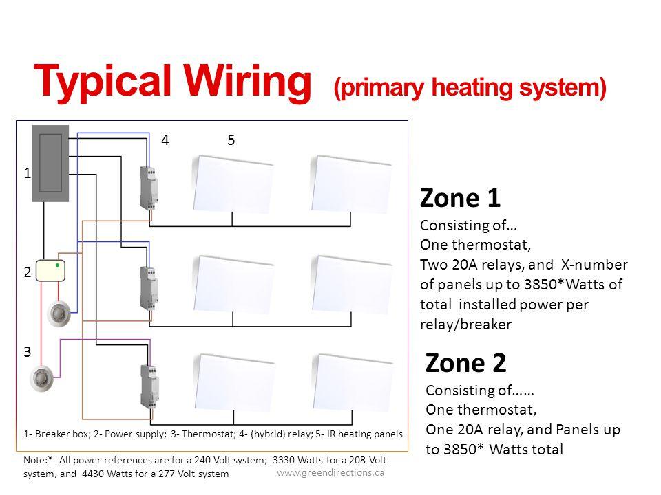 277 volt wiring diagram electric heat