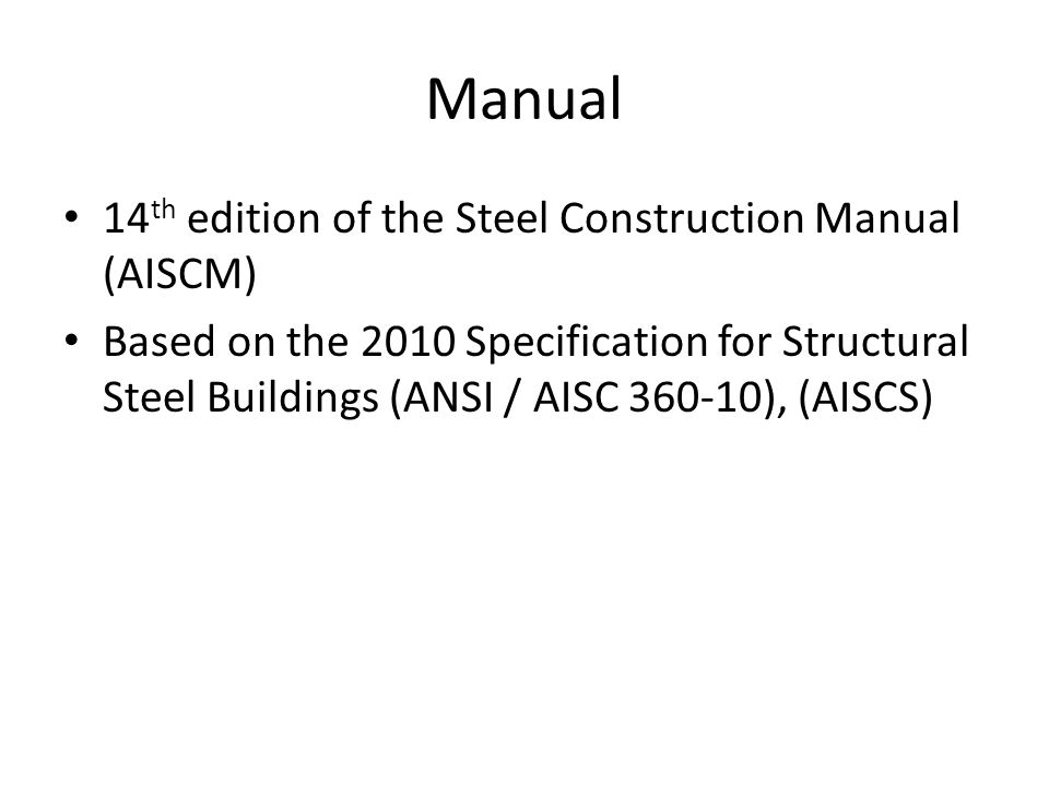 steel construction manual 14th edition pdf template