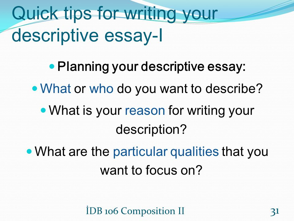Tips For Writing Narrative Essays