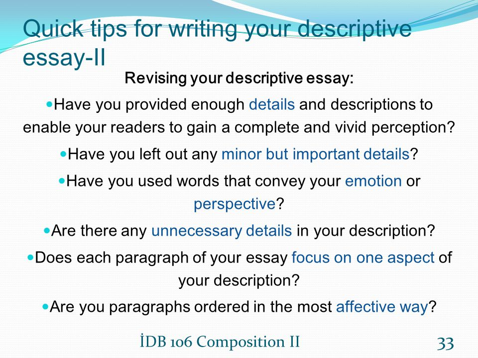 Write Admission Essay - The Ring of Fire descriptive essay smell