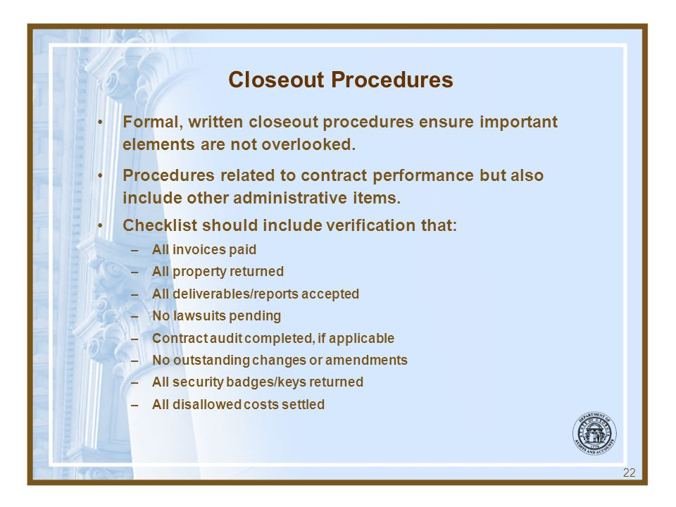 Effective Contract Monitoring System - ppt download