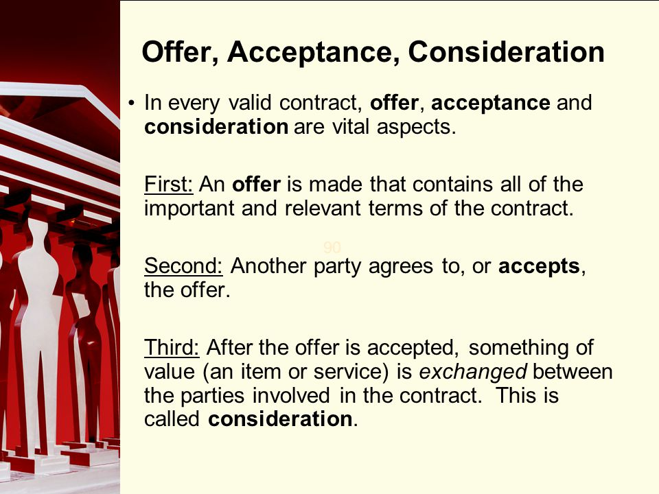 Chapter 15 Elements of a Contract - ppt video online download