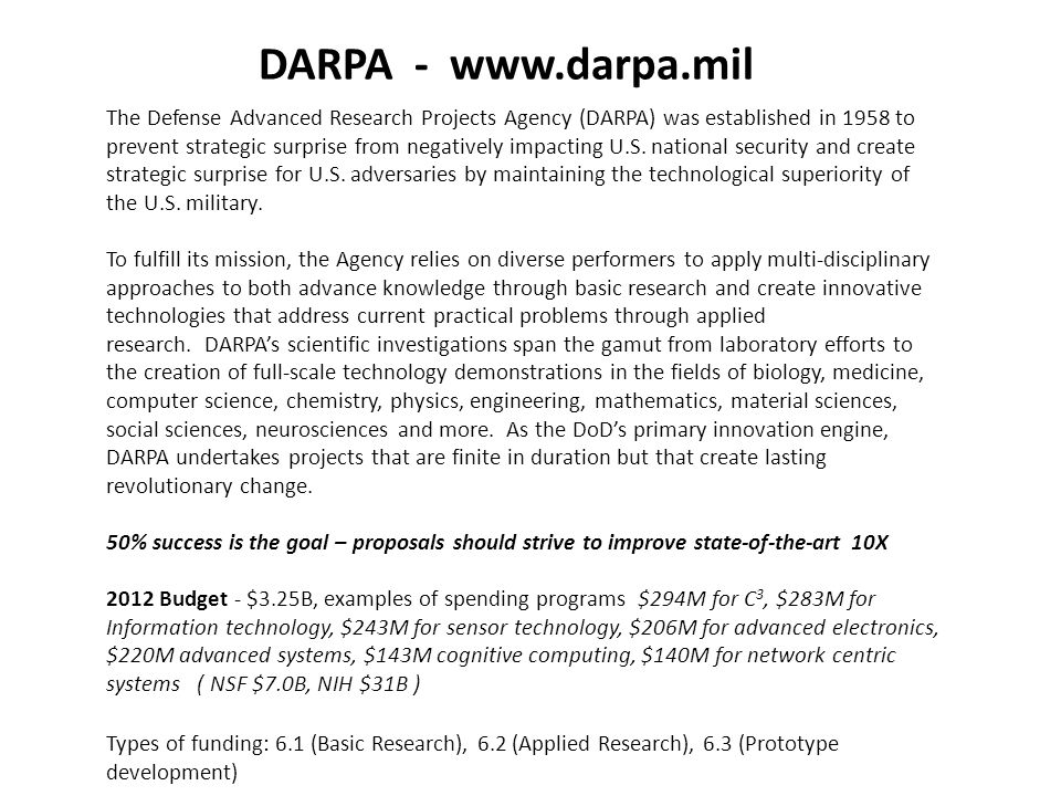 darpa template - 28 images - darpa program manager sle resume