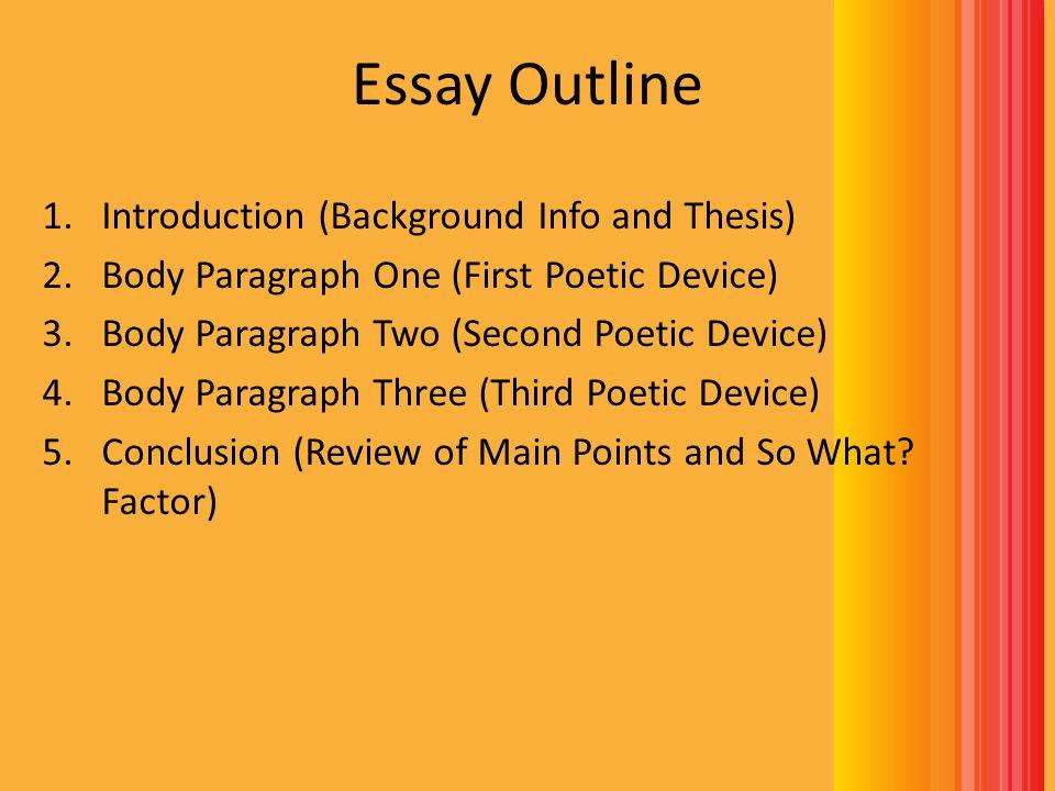 a 5 paragraph essay