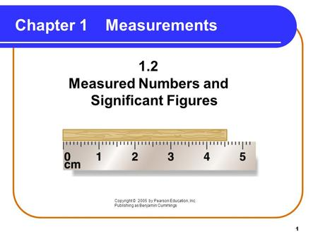 Measured Numbers and Significant Figures - ppt download