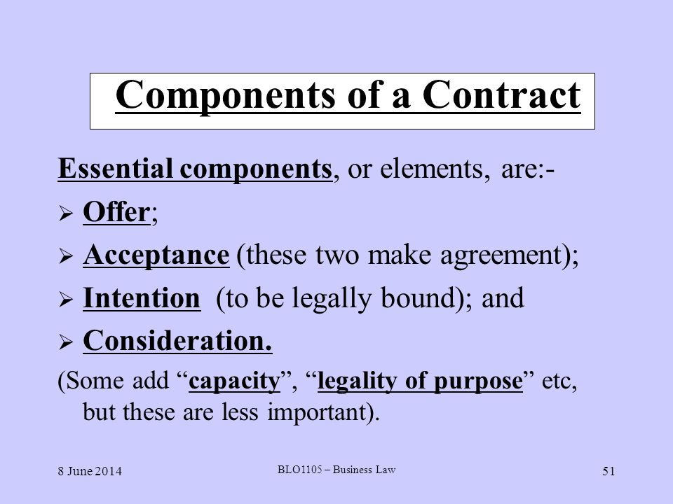 Contract Important Elements Contract Termination Letter Template - contract important elements