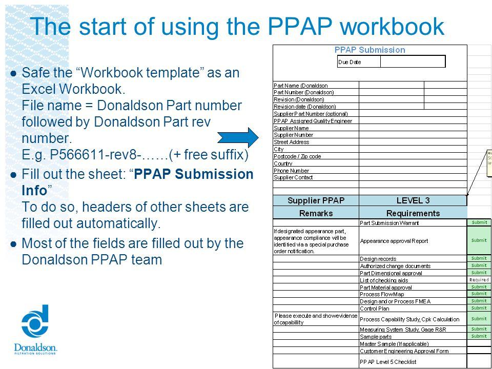 workbook design template