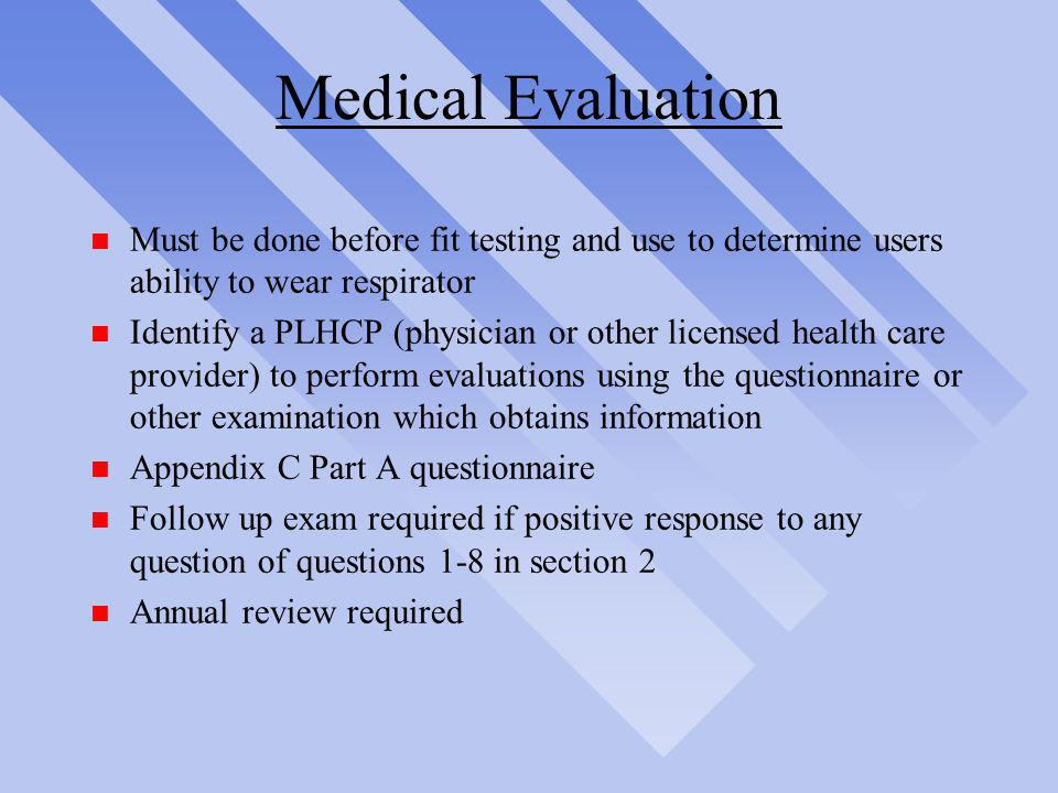 OSHA\u0027s Respiratory Protection Standard 29 CFR - ppt video online