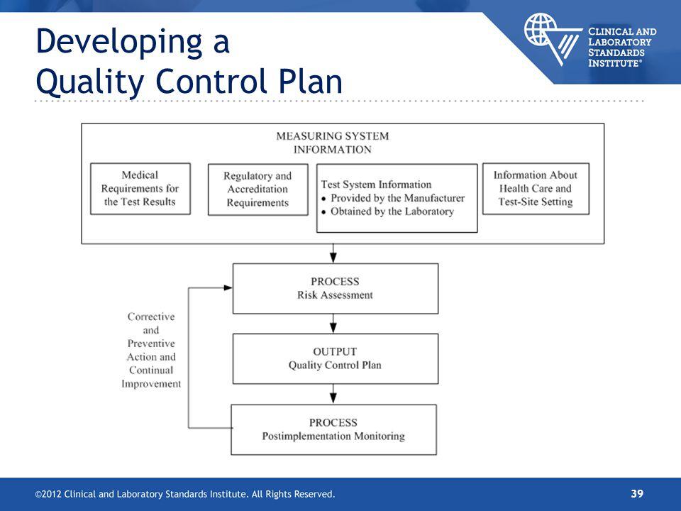 Control Plan oakandale - quality control plans