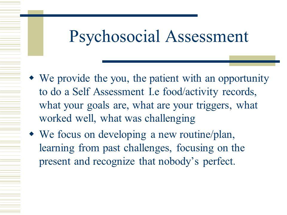 psychosocial assessment pro-thai - psychosocial assessment