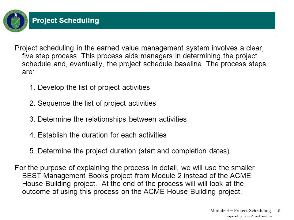 Module 3 Project Scheduling - ppt download