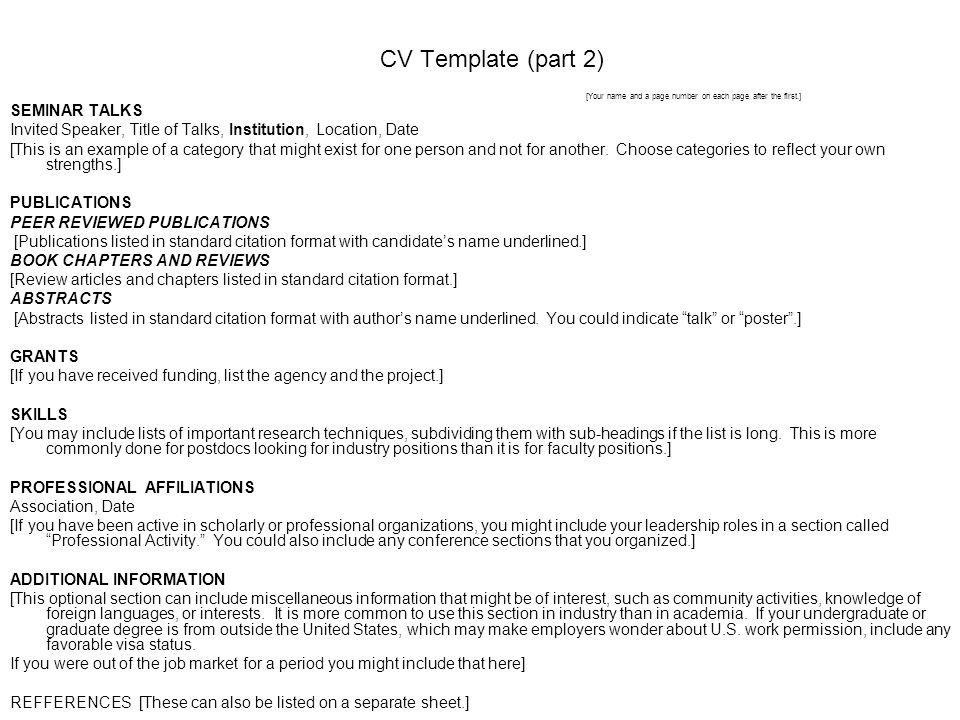 cvresume strategies and tips ppt video online download resume headings format - Resume Headings