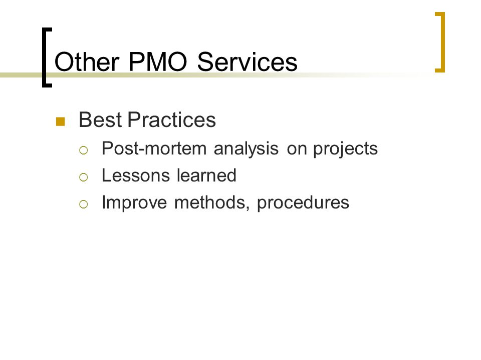 Should You Establish a Project Management Office (PMO)? - ppt video