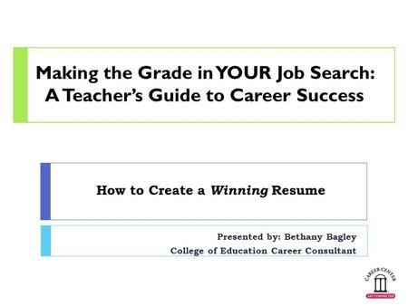 guide to making a resume - Josemulinohouse