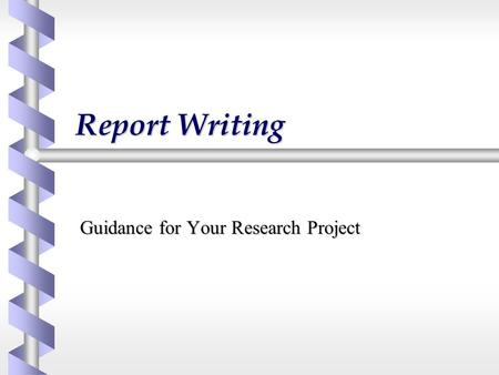 business report templates sample project report formats business - research project report