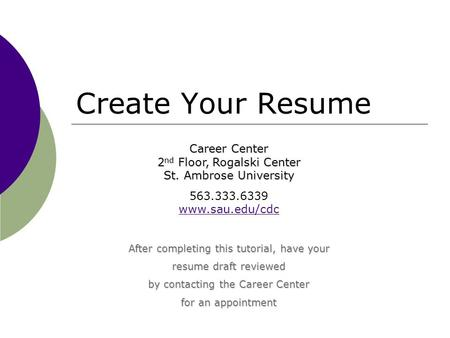 SkillPath Corporate StrategiesTrainingBusiness Report Writing - four types of resumes