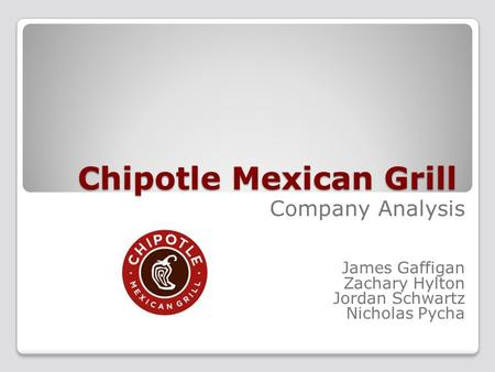 Chipotle mexican grill case analysis Essay Academic Writing Service - chipotle swot