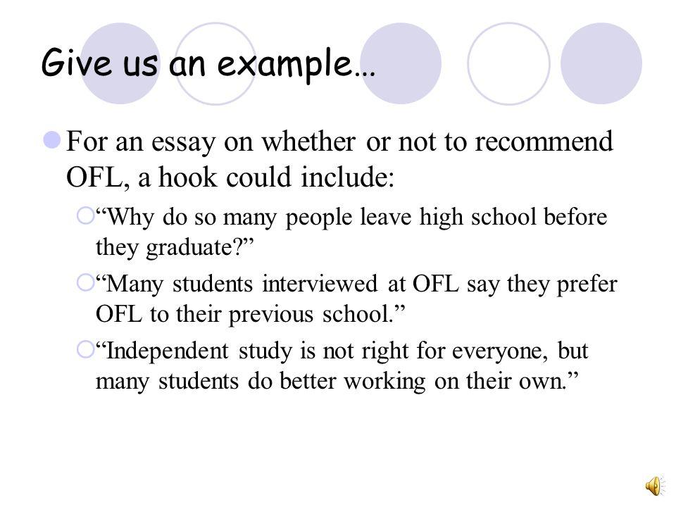 example of hooks for essays - Onwebioinnovate - examples of hooks for essays