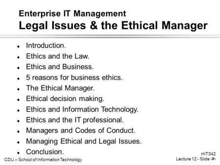 Why Is It Important To Communicate Information Legally And Ethically