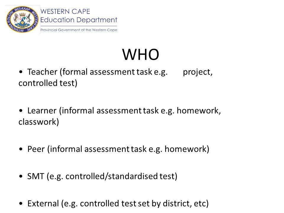 ... Formal Assessment Spintel   Formal Assessment ...