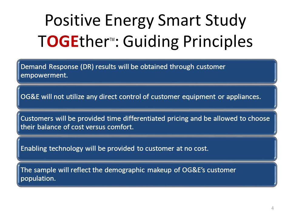 Smart Grid with a Customer Focus OGE Smart Study TOGEther - ppt - og and e
