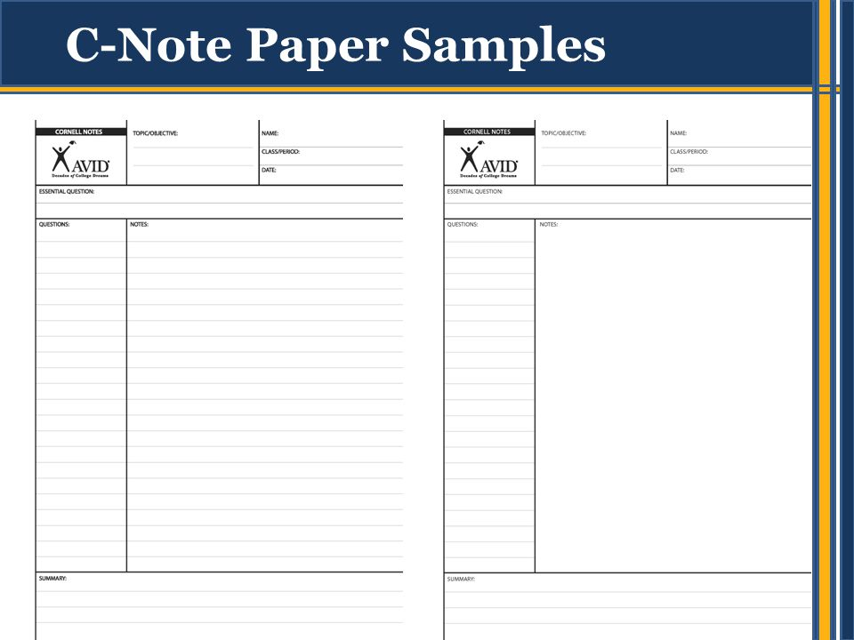 Cornell Note-Taking Introduce students to Cornell Notes - ppt video