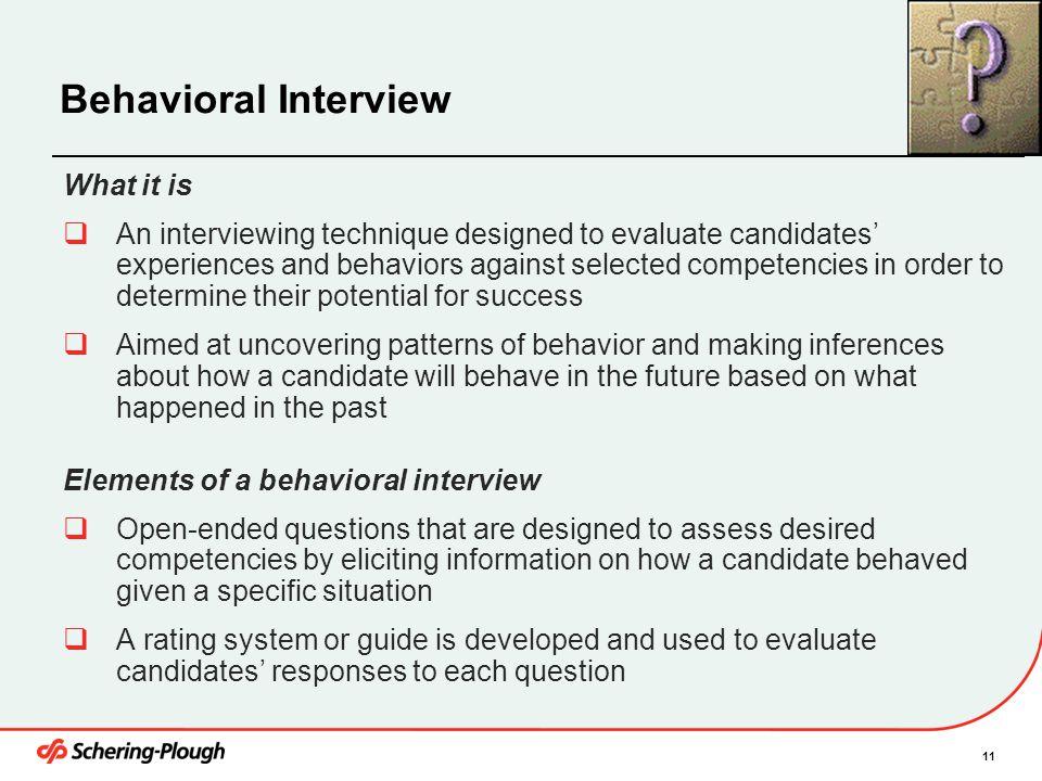 behavioral question - Artij-plus