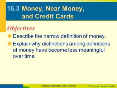 CONTEMPORARY ECONOMICS© Thomson South-Western LESSON 16.1 SLIDE 1 Money and Banking Origins of ...