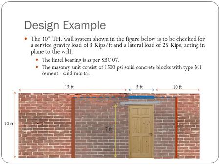 CHAPTER 9 MASONRY - ppt video online download