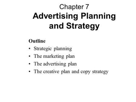 Advertising Plan Marketing Commercial Advertising Plan Concept - advertising plan