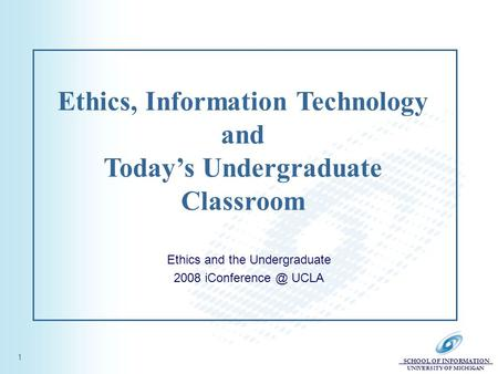 Technology Ethics In The Classroom Essay