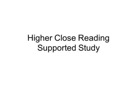 Higher Close Reading Word Choice Questions - ppt video online download