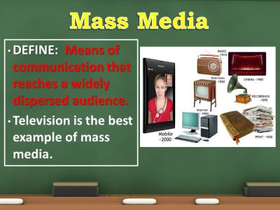 Unit 6 Visuals Mass Media Public Opinion Interest Groups. - ppt video online download